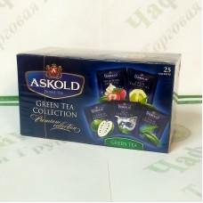 Чай Аскольд Green Assorti Зеленый Ассорти 25*2г зел.