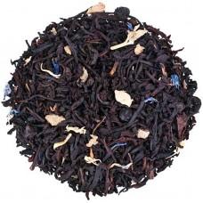 Чай чорний з добавками розсипний TEASTAR Чорничний ароматом йогурту чай 500г