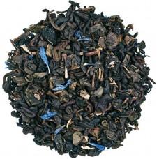 Чай зелений з добавками розсипний TEASTAR Чорничний ароматом йогурту чай 500г