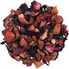 Чай фруктова суміш з добавками розсипний TEASTAR Полуничне налаждение 500г