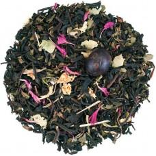 Чай чорний з добавками розсипний TEASTAR Чорний ягодами Ааи 500г