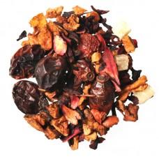 Чай фруктова суміш з добавками розсипний TEASTAR Черрі-фрукт 500г