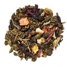 Чай зелений з добавками розсипний TEASTAR Зелений равлик воточными фруктами 500г