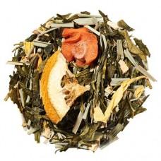 Чай зелений з добавками розсипний TEASTAR Імбир Лимонгра 500г