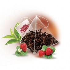 Чай Пірамідка «Суниця з вершками зелена»