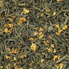 Чай ваговий Зелений з османтусом 500г
