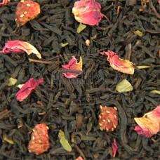 Чай ваговий Суниця з вершками (чорна) 500г