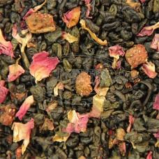 Чай ваговий Суниця з вершками (Зелена) 500г