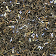 Чай ваговий Шу-Пуер з лавандою 500г