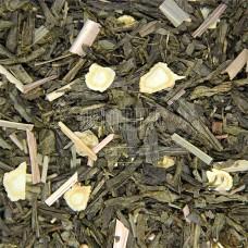 Чай ваговий Зелений з женьшенем 500г
