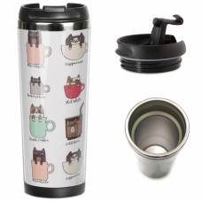 Термокружка ZIZ Котячий кави (21096)