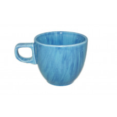 Чашка Кавова Полигенько веселка блакитна 200 мл