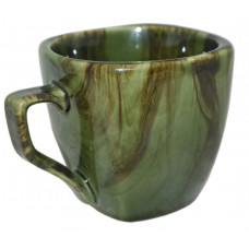 Чашка Франція Полигенько веселка малахіт 210 мл