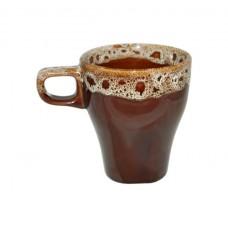 """Чашка """"Грація"""" Полигенько пінка коричнева 250 мл"""