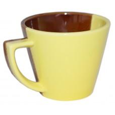 Чашка Конус Полигенько день-ніч лимон 350 мл