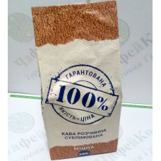 """Кофе """"100% Кофе"""" Крепкий сублимированный 500г (6)"""