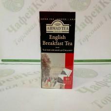Чай Ахмад English Breakfast Англійський сніданок чорн. 40 шт * 2г б / я (10)