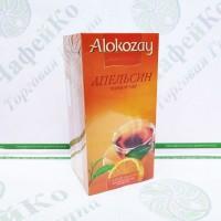 Чай Alokozay Чорний з апельсином в конверті 25 * 2г (24)