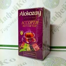 Чай Alokozay Ассорти в конверте 25*2г (24)