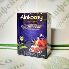 Чай Alokozay Чёрный листовой с бергамотом  100 г (40)
