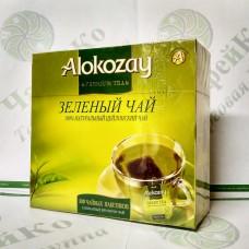 Чай Alokozay Зелёный пакетированный 100*2г (24)
