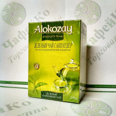Чай Alokozay Зелёный ганпаудер  250 г (24)