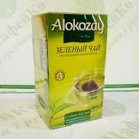 Чай Alokazay Зелений пакетований в конверті 25 * 2г (24)