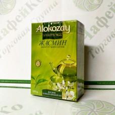 Чай Alokozay Зелений з жасмином 90г г (40)