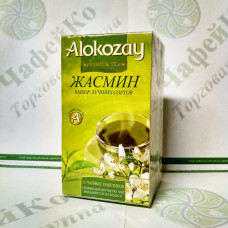Чай Alokozay Зелений з жасмином в конверті 25 * 2г (24)