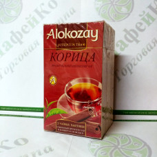 Tea Alokozay Black with cinnamon in an envelope 25 * 2g (24)