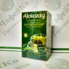 Чай Alokozay Зелёный Мароканский с мятой в конверте 25*2г (24)