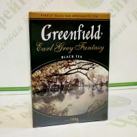 Чай Greenfield Earl Grey Fantasy 100г