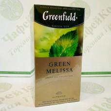 Чай Greenfield Green Melissa 25х1.5г