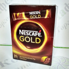 Кава Nescafe Gold стик 25 * 2г (12)