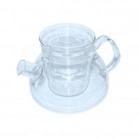Чайник стекл. зі скляними. ситом Суомі 1100 мл