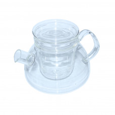 Чайник стекл. со стекл. ситом Суоми 1100 мл