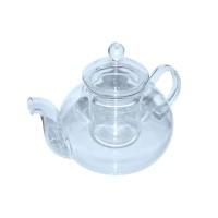 Чайник стекл. зі скляними. ситом Грецький 1100 мл