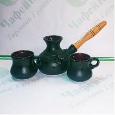 Набір турка керамічна 500 мл + 2ч-100 мл Стандарт