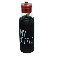 "Термобутилка в чохлі з заварник ""My bottle"" 420 мл"
