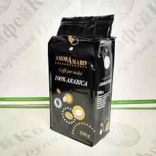 Кофе AmorAmaro 100% Arabica 100% Арабика 250г мол. (20)