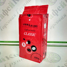 Кофе AmorAmaro Classic Классик 250г 70%араб./30%роб. мол. (20)