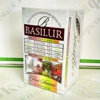 Чай Basilur Ассорти (Четыре сезона) черн.+зел. 20*2г