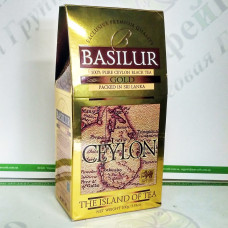 Чай Basilur Золотий (Острів Цейлон) черн. 100г