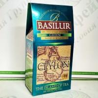 Чай Basilur Зелений (Острів Цейлон) зел. 100г