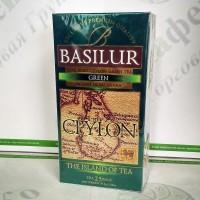 Чай Basilur Зелёный (Остров Цейлон) зел. 25*1,5г