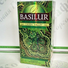 Tea Basilur Green Valley (Oriental Collection) green 25*1.5g