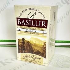 Чай Basilur Канди (Лист Цейлона) черн. 20*2г