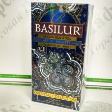 Tea Basilur Magic of the Night (Eastern collection) black 25*2g