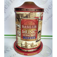 Чай Basilur Музична скринька Лондон (Святкова колекція) 100г з/б