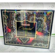 Чай Basilur Подарункова коробка Східна Колекція чорн.+зел. 60*2г